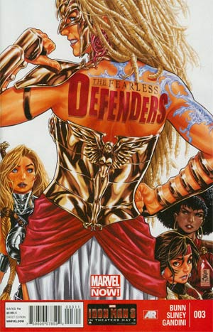Fearless Defenders #3 Regular Mark Brooks Cover