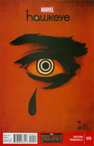 Hawkeye Vol 4 #10 Regular Francesco Francavilla Cover