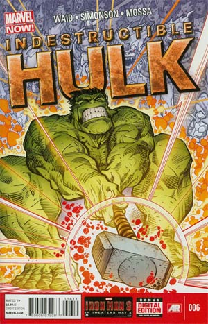 Indestructible Hulk #6 Regular Walter Simonson Cover