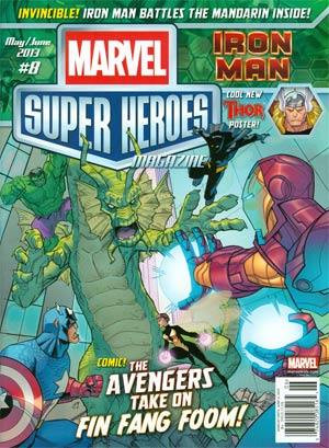 Marvel Super-Heroes Magazine #8