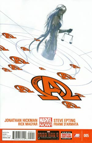 New Avengers Vol 3 #5 Regular Jock Cover
