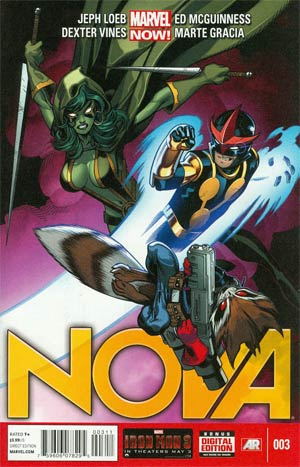 Nova Vol 5 #3 Regular Ed McGuinness Cover