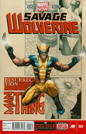 Savage Wolverine #4 Regular Frank Cho Cover