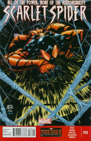 Scarlet Spider Vol 2 #16 Regular Ryan Stegman Cover
