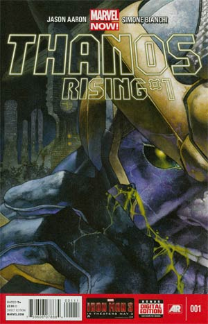 Thanos Rising #1 Regular Simone Bianchi Cover