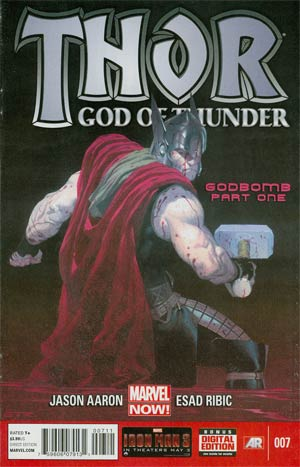 Thor God Of Thunder #7 Regular Esad Ribic Cover