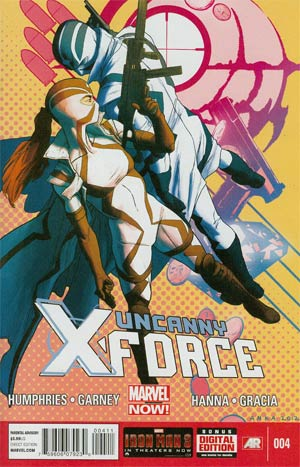 Uncanny X-Force Vol 2 #4 Regular Kris Anka Cover