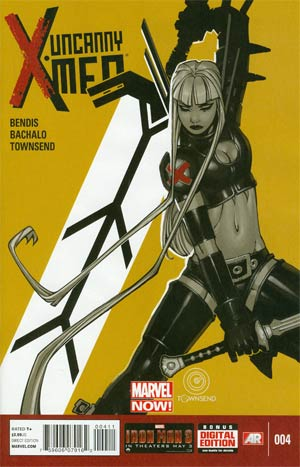 Uncanny X-Men Vol 3 #4 1st Ptg Regular Chris Bachalo Cover