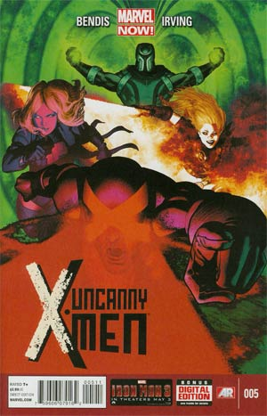 Uncanny X-Men Vol 3 #5 Regular Frazer Irving Cover