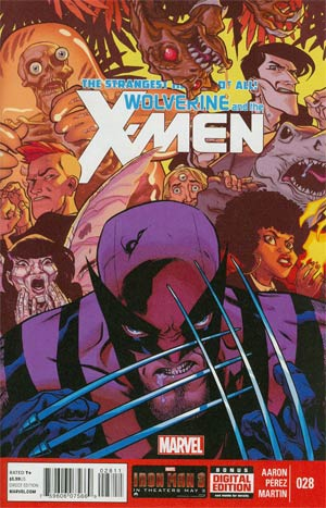Wolverine And The X-Men #28 Regular Ramon Perez Cover