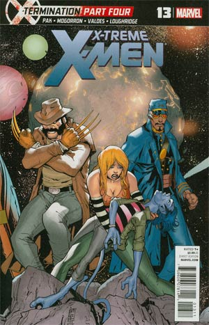 X-Treme X-Men Vol 2 #13 Regular Giuseppe Camuncoli Cover (X-Termination Part 4)