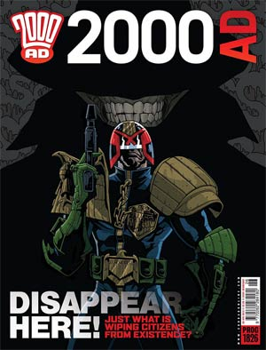 2000 AD #1826 - 1829 Pack April 2013