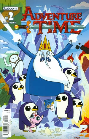 Adventure Time #2 New Ptg Connecting Regular Cover