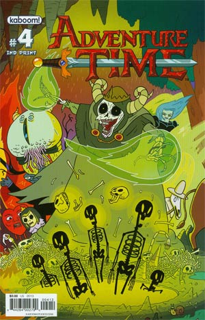 Adventure Time #4 New Ptg Connecting Regular Cover