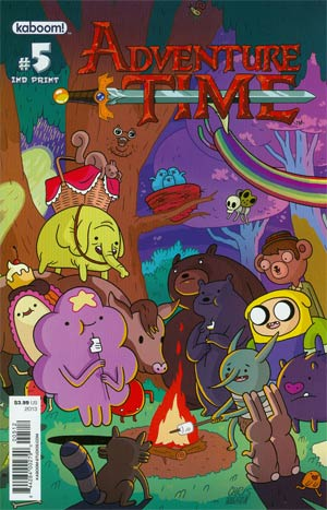 Adventure Time #5 New Ptg Connecting Regular Cover