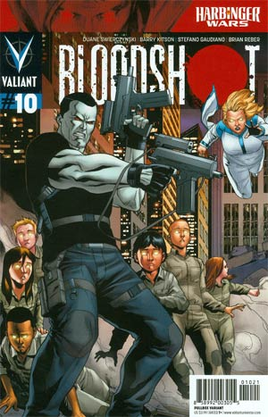 Bloodshot Vol 3 #10 Variant Clayton Henry Pullbox Interconnected Cover (Part 3 Of 3)(Harbinger Wars Tie-In)