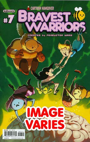 DO NOT USE Bravest Warriors #7 Regular Cover (Filled Randomly With 1 Of 2 Covers)
