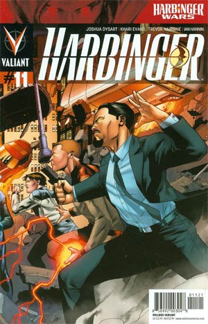 Harbinger Vol 2 #11 Variant Clayton Henry Pullbox Interconnected Cover (Part 2 Of 3)(Harbinger Wars Tie-In)