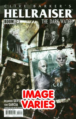 DO NOT USE Clive Barkers Hellraiser Dark Watch #3 Regular Cover (Filled Randomly With 1 Of 2 Covers)