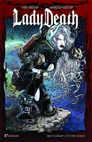 Lady Death Vol 3 #24 Cover H Auxiliary Edition