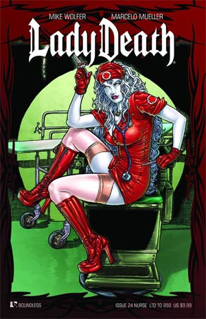 Lady Death Vol 3 #24 Cover I Nurse Cover