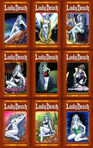 Lady Death Vol 3 #25 Classic Pinups 9-Cover Set