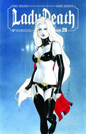Lady Death Vol 3 #28 Regular Jason Eden Cover