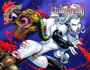 Lady Death Vol 3 #28 Wraparound Cover