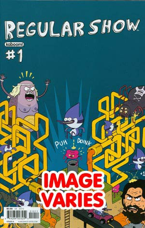 Regular Show #1 1st Ptg Regular Cover (Filled Randomly With 1 Of 6 Covers)