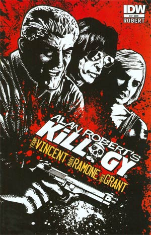 Alan Roberts Killogy #4 Regular Alan Robert Cover