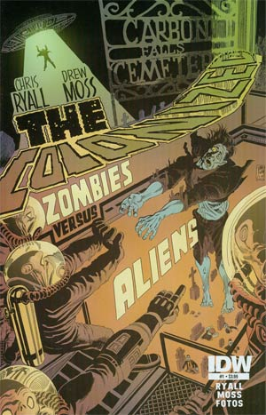 Colonized #1 Regular Dave Sim Cover