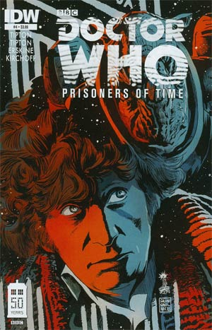 Doctor Who Prisoners Of Time #4 Regular Francesco Francavilla Cover
