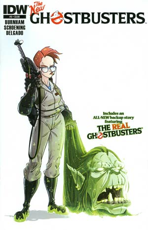 New Ghostbusters #3 Regular Dan Schoening Cover