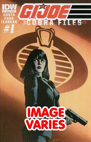 DO NOT USE GI Joe Cobra Files #1 Regular Cover (Filled Randomly With 1 Of 2 Covers)