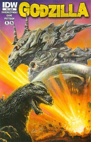Godzilla Vol 2 #12 Regular Bob Eggleton Cover