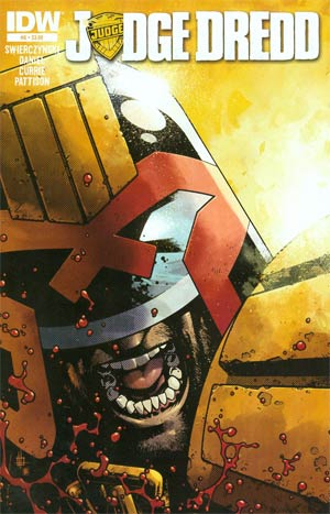 Judge Dredd Vol 4 #6 Regular Zach Howard Cover
