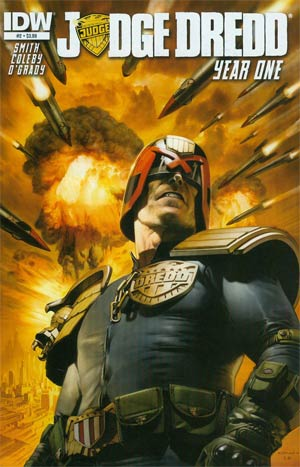 Judge Dredd Year One #2 Regular Greg Staples Cover