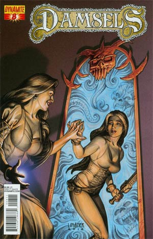 Damsels #8 Regular Joseph Michael Linsner Cover