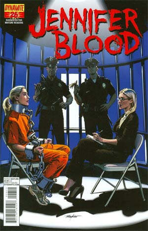 Garth Ennis Jennifer Blood #26