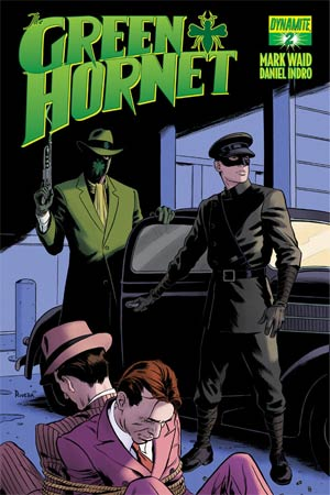 Mark Waids Green Hornet #2 Regular Paolo Rivera Cover
