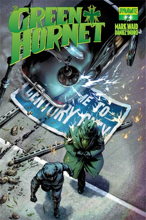 Mark Waids Green Hornet #2 Variant Jonathan Lau Subcription Cover