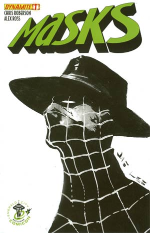 Masks #1 Emerald City Comicon Spider Exclusive Jae Lee Cover