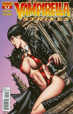 Vampirella Strikes Vol 2 #4 Regular Cover A Johnny Desjardins