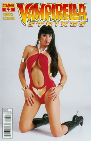Vampirella Strikes Vol 2 #4 Variant Photo Subscription Cover