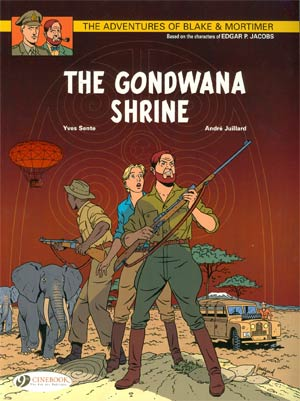 Blake & Mortimer Vol 11 Gondwana Shrine GN