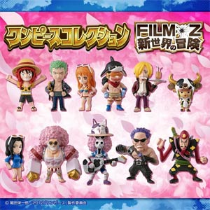 One Piece Collection - Film Z - Adventure To The New World Mini Figures Blind Mystery Box