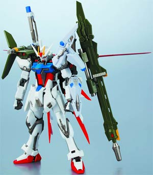 Robot Spirits #135 (Side MS) GAT-X105+AQM/E-YM1 Perfect Strike Gundam Action Figure