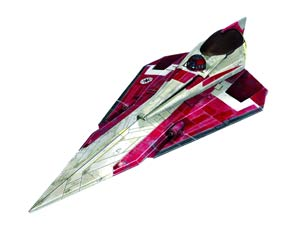 Star Wars Obi-Wan Kenobis Jedi Starfighter Easykit Model Kit
