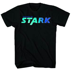 Iron Man 3 Stark Made-M Black T-Shirt Large