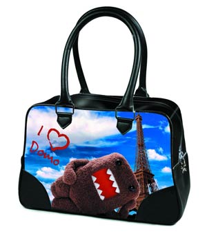 Domo Bowler Handbag - Eiffel Tower